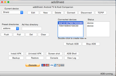adbShield: Companion software for Kodi & Android TV